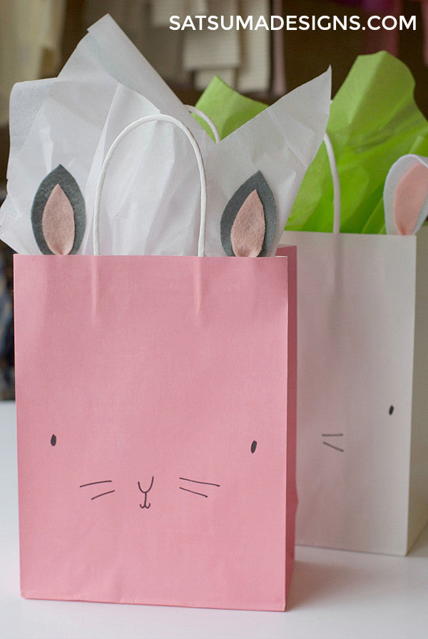 DIY Bunny Easter Basket