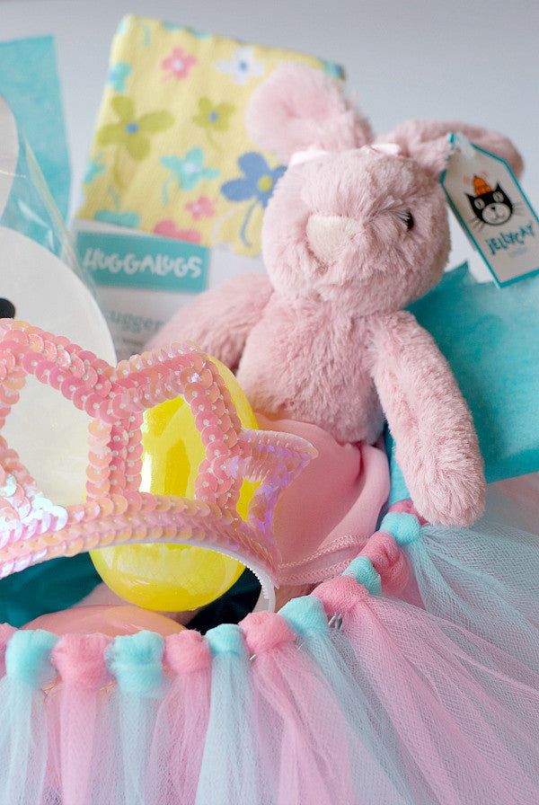 DIY TUTU EASTER BASKET