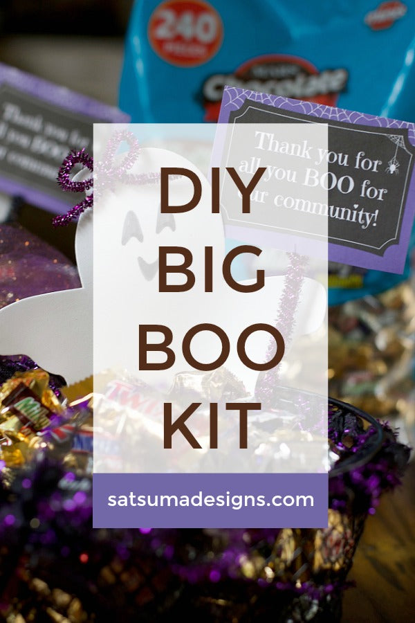 DIY Big BOO Kit