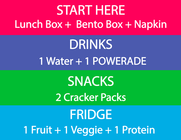 lunchbox zone printable