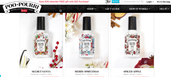 Poo~pourri website
