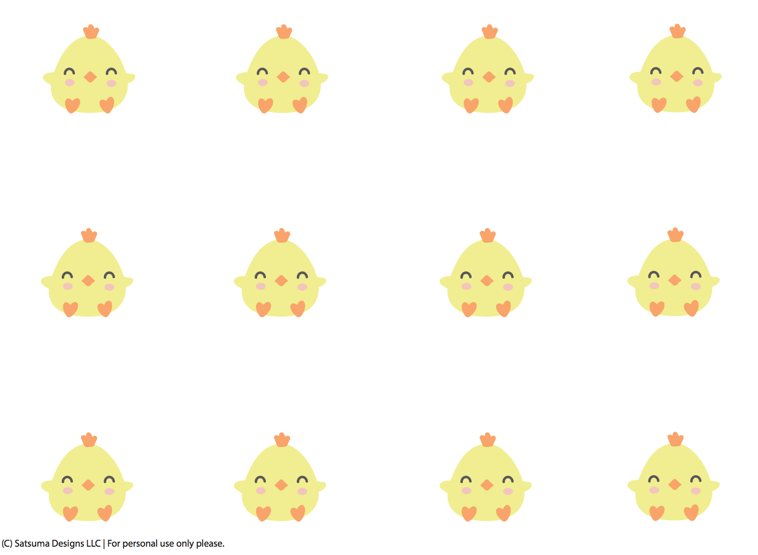 Easter Chick Place Card And Party Favor Free Printable