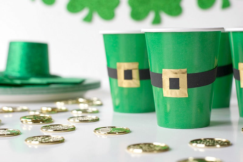 St Patricks Day Party Cups Satsuma Designs