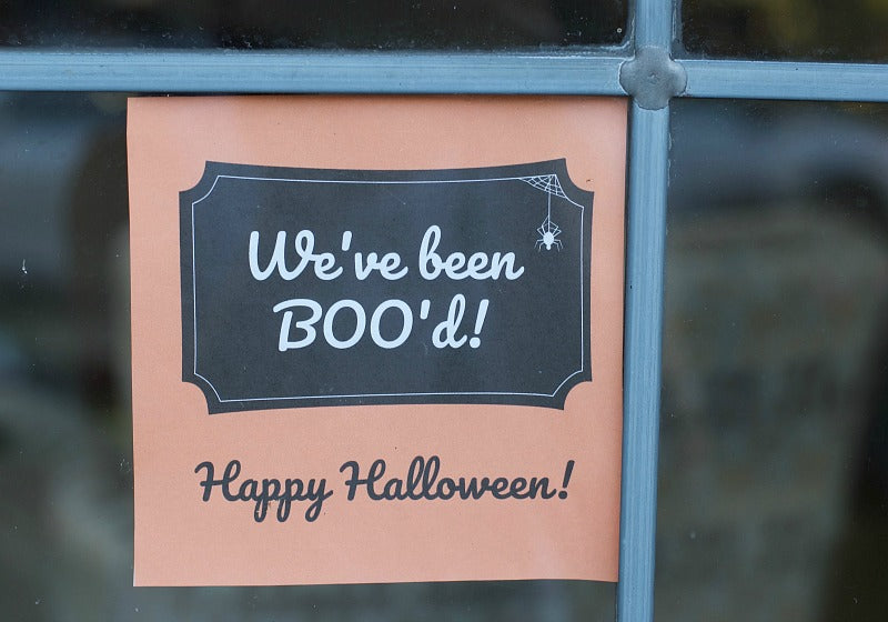 You've Been BOO'd Printable Treat Bag | you've been boo'ed printable treat bag | SatsumaDesigns.com #printable #halloween