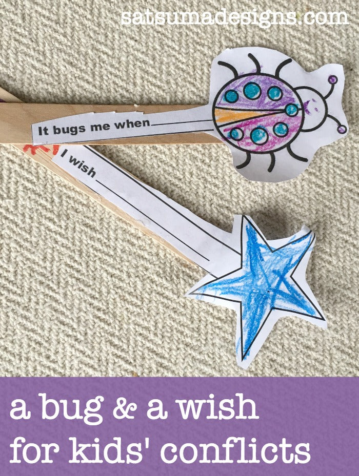 a bug and a wish conflict resolution