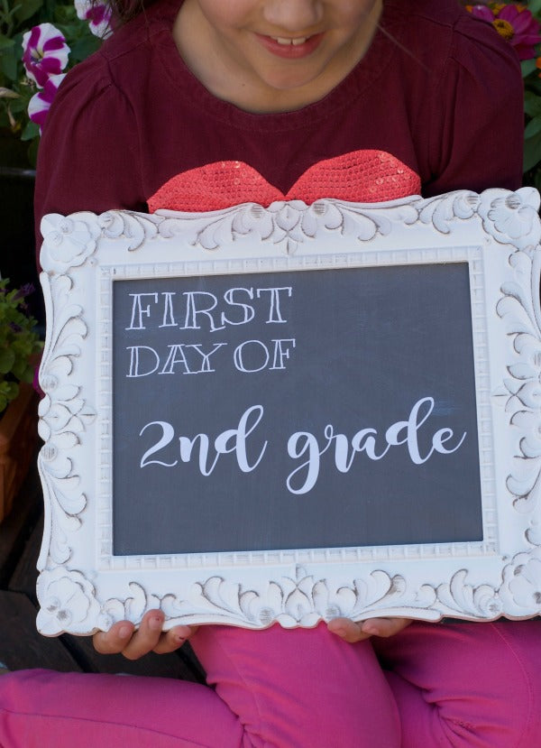 free back to school banner printables pre-k through high school