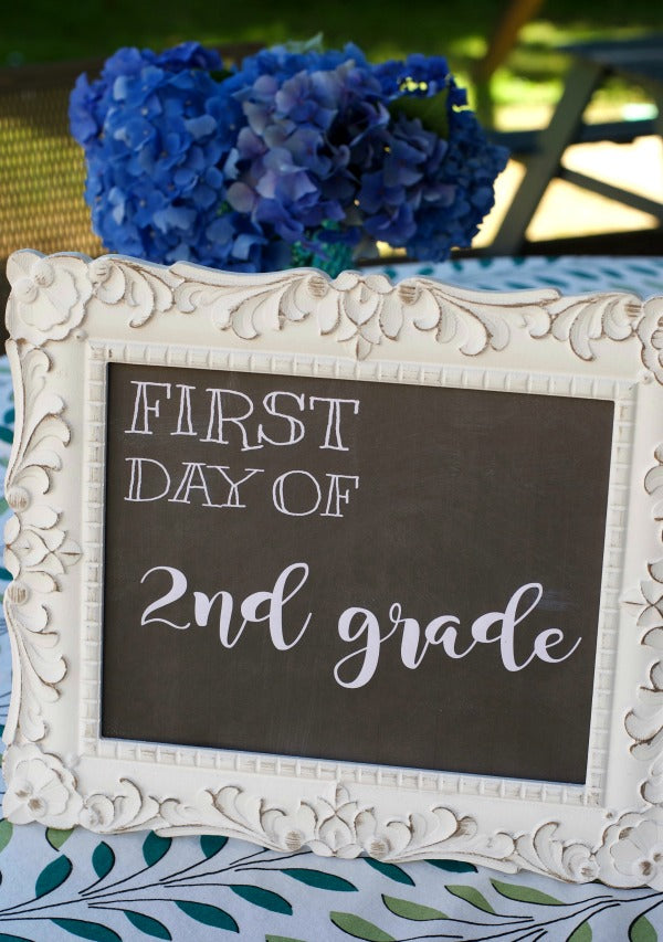 free back to school banner printables