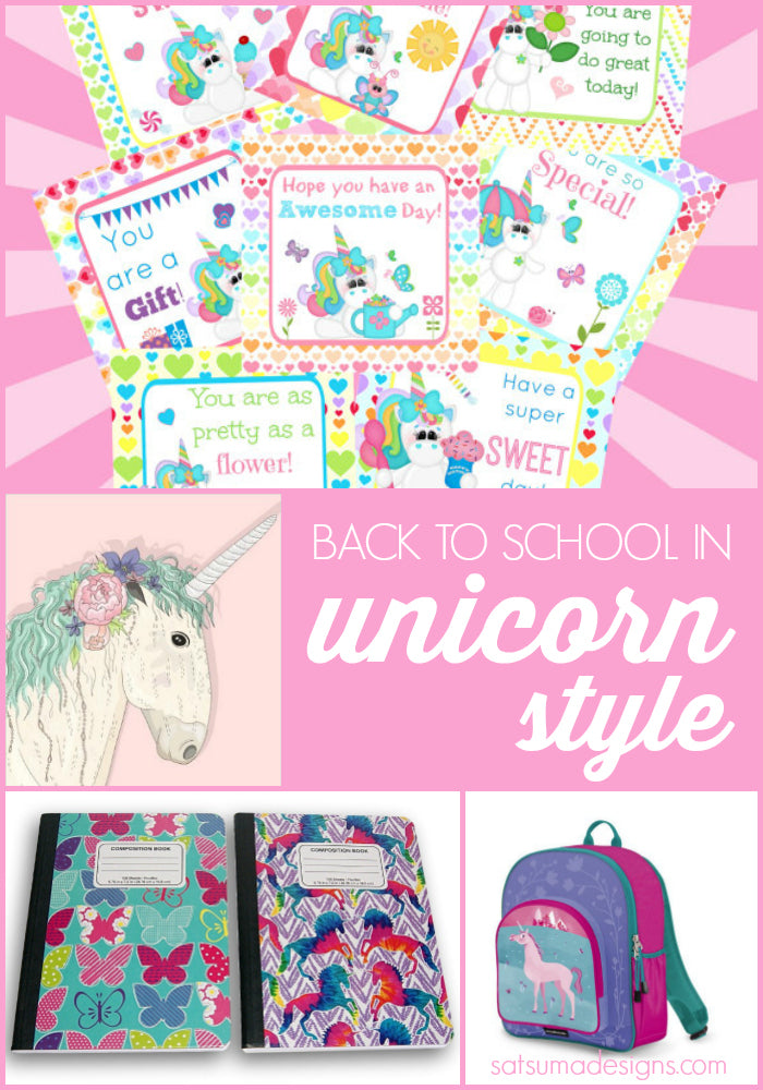 unicorn back to school