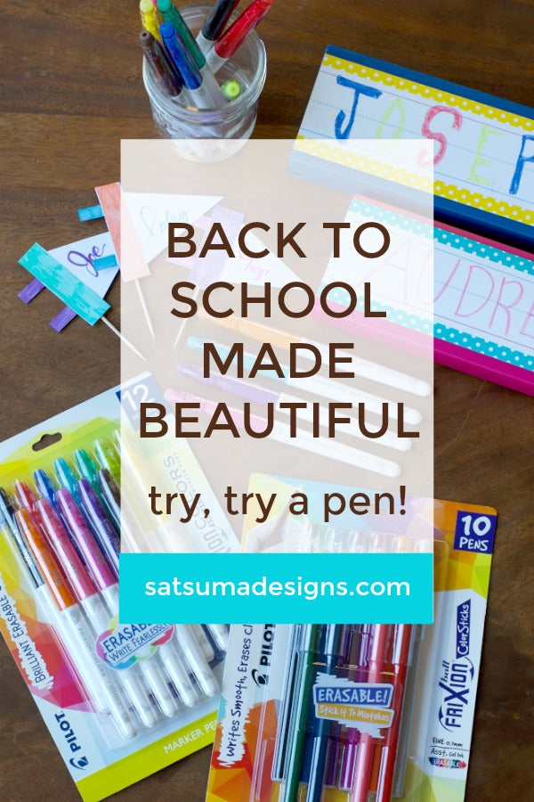 back to school made beautiful