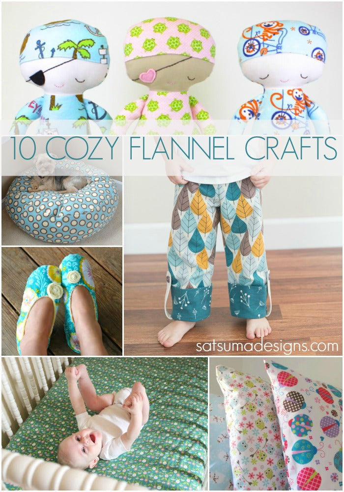 10 cozy flannel crafts