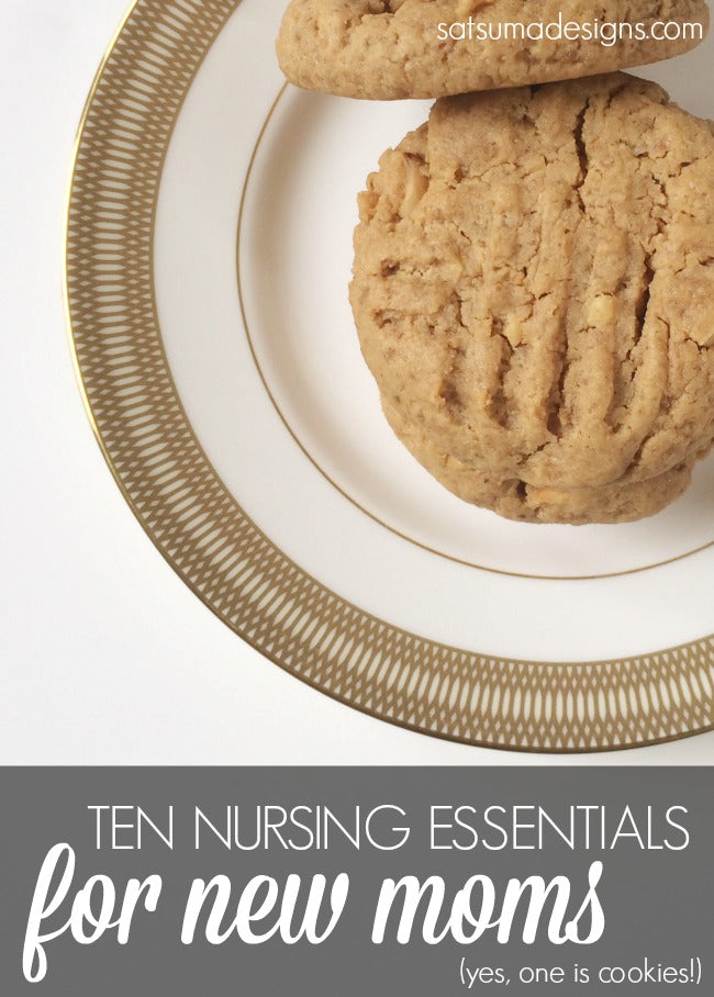 nursing essentials for new moms