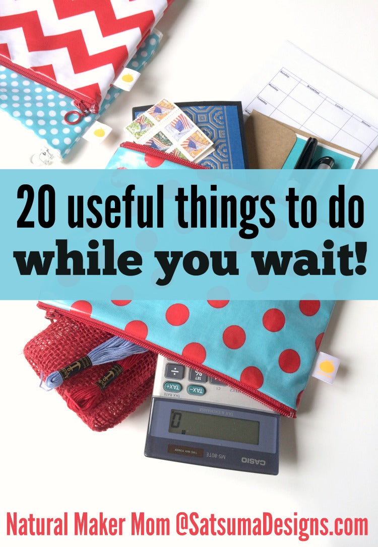 20 things to do while you wait