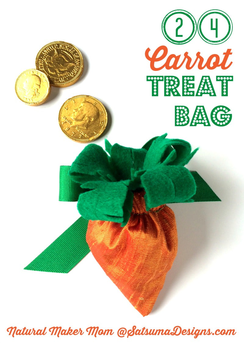 24 carrot diy treat bag tutorial