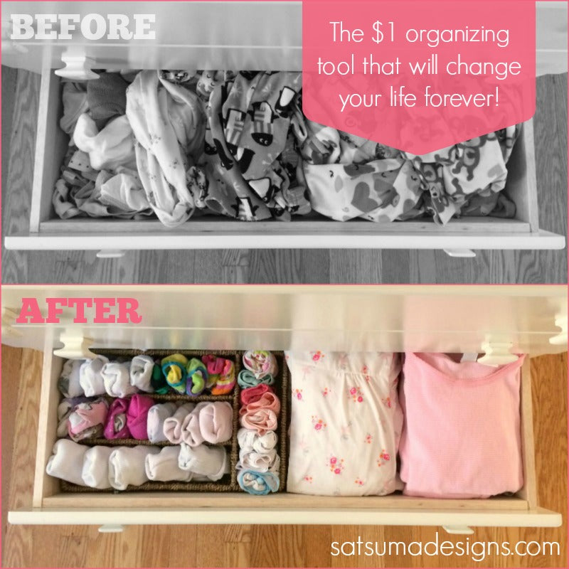 5 easy ways to organize kids drawers