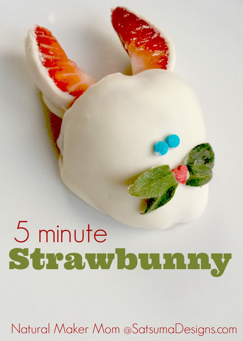 Easter Strawbunny recipe to celebrate the season #Easter #brunch