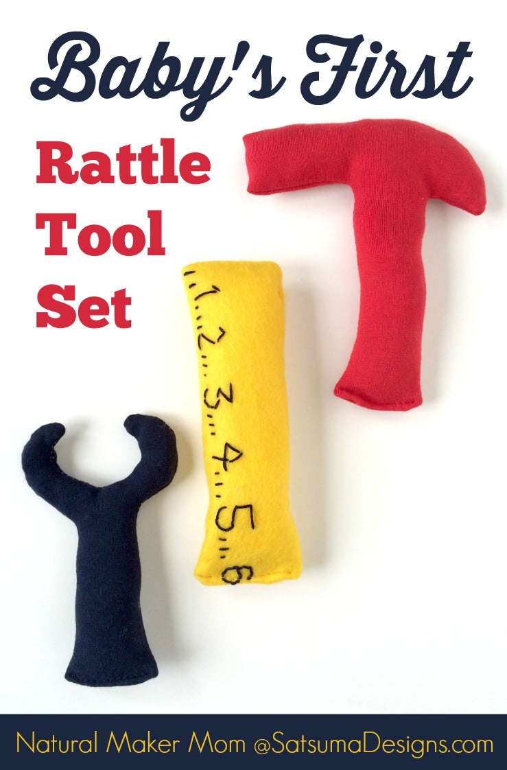 babys first rattle tool set diy