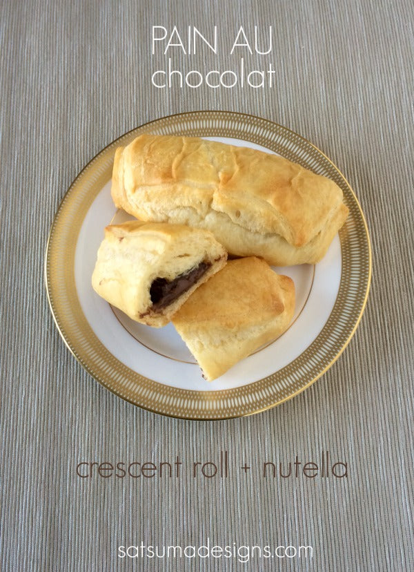 crescent pain au chocolat recipe
