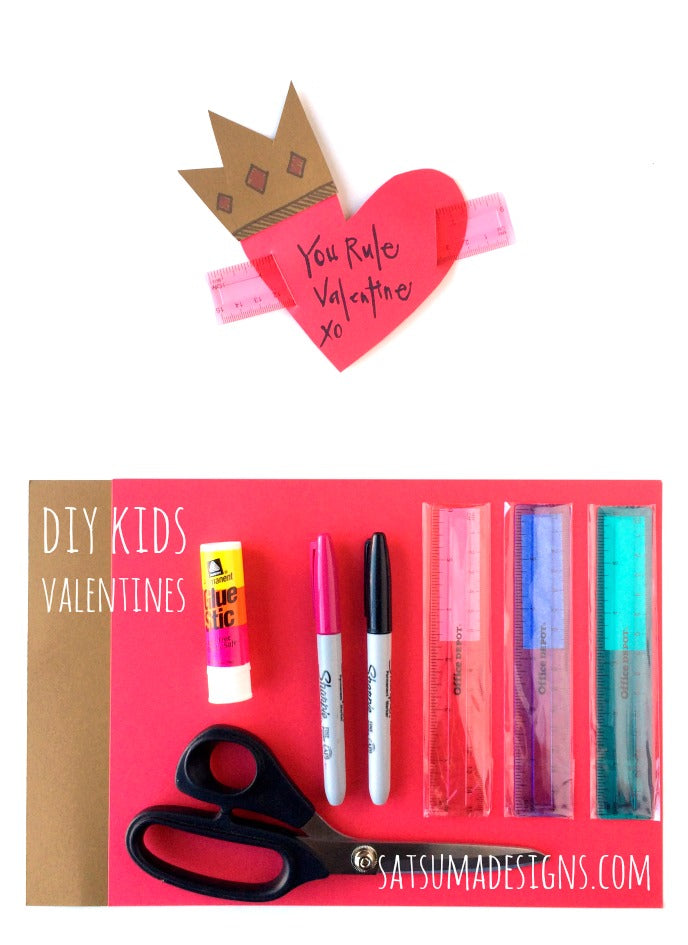 diy kids valentines