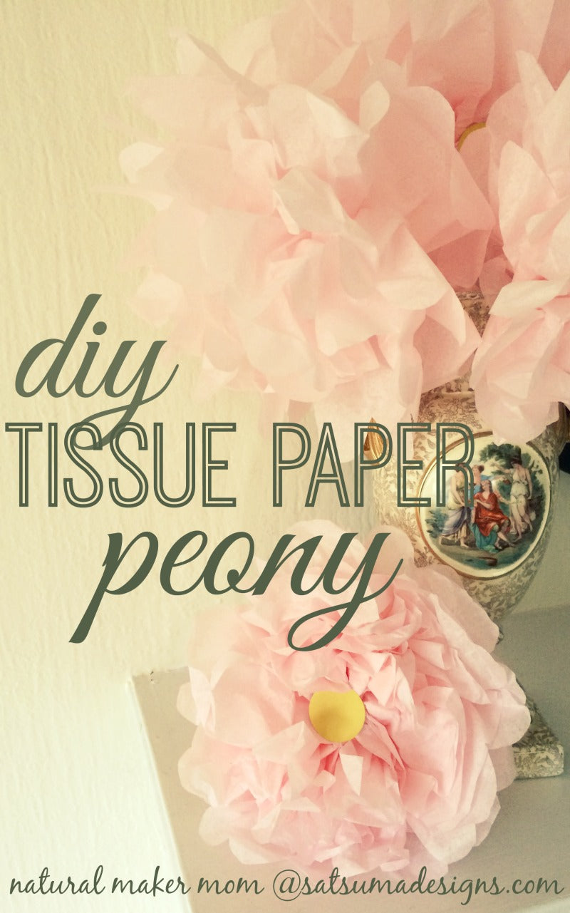 Large tissue paper flowers satsuma designs diy tissue paper peony mightylinksfo
