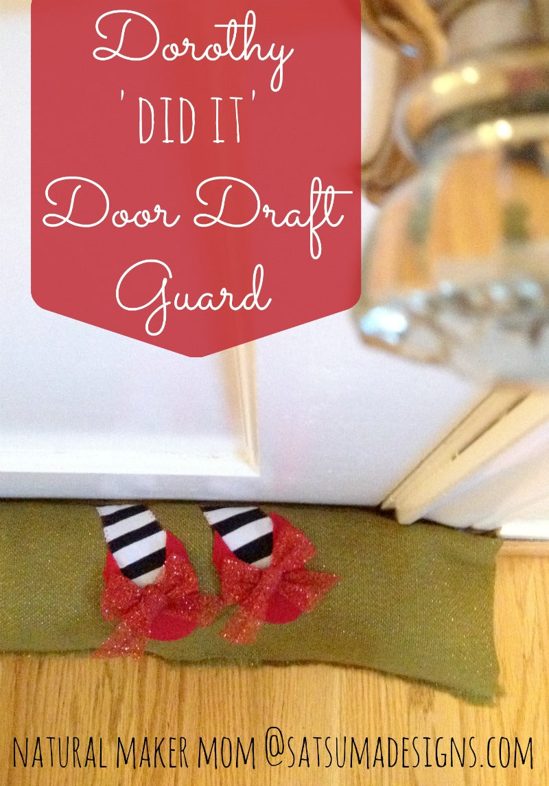 dorothy did it door draft guard