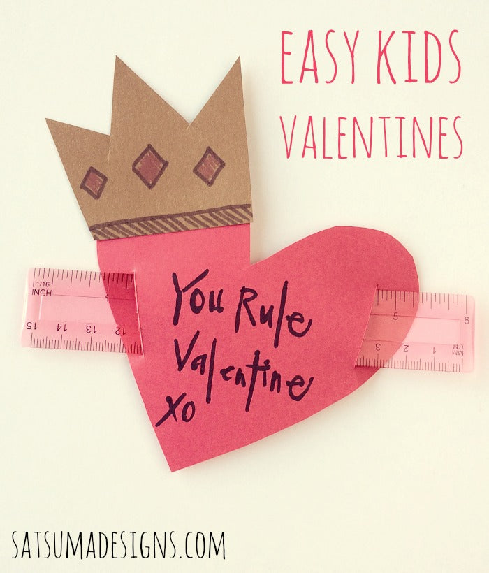 easy kids valentines