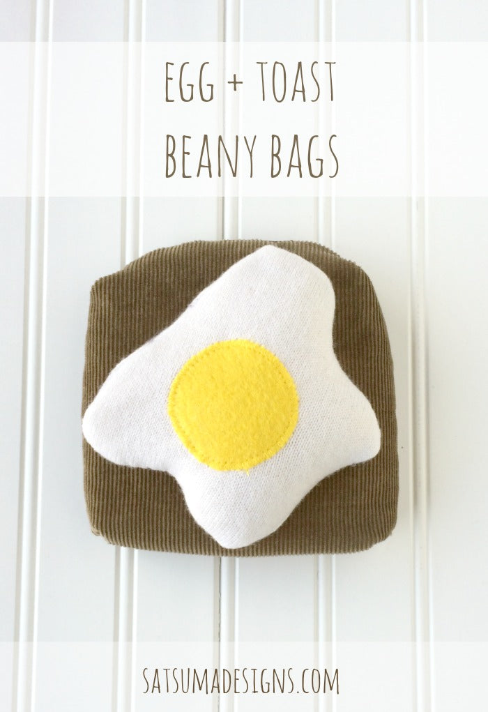 egg and toast beany bags