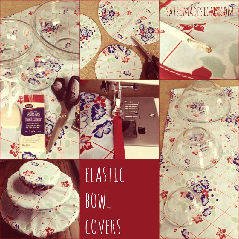 elastic bowl covers tutorial