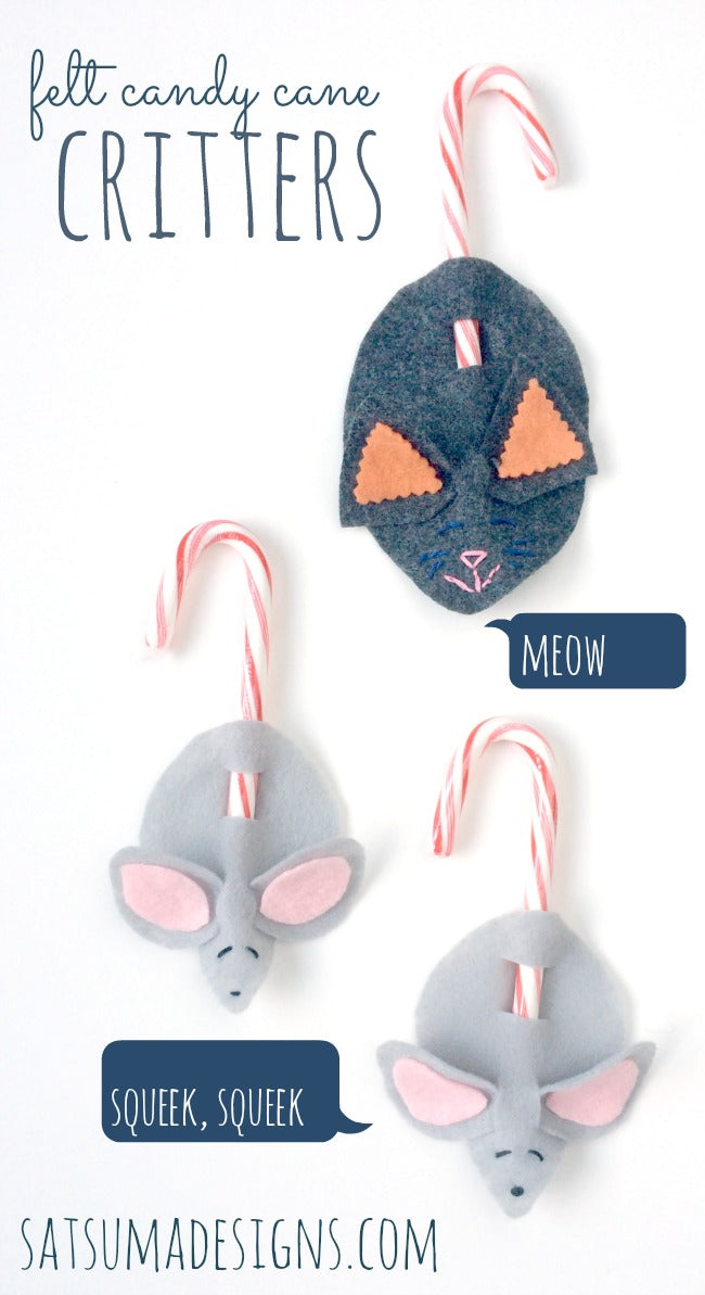 diy candy cane critters