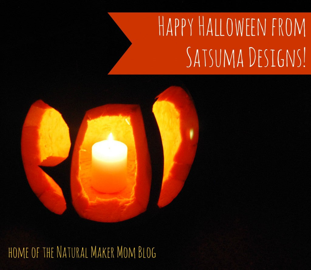 happy halloween from satsuma designs