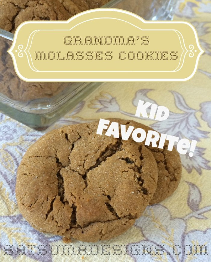 grandmas molasses cookie recipe