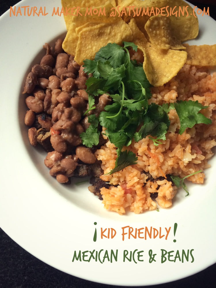 kid friendly mexican rice and beans recipe