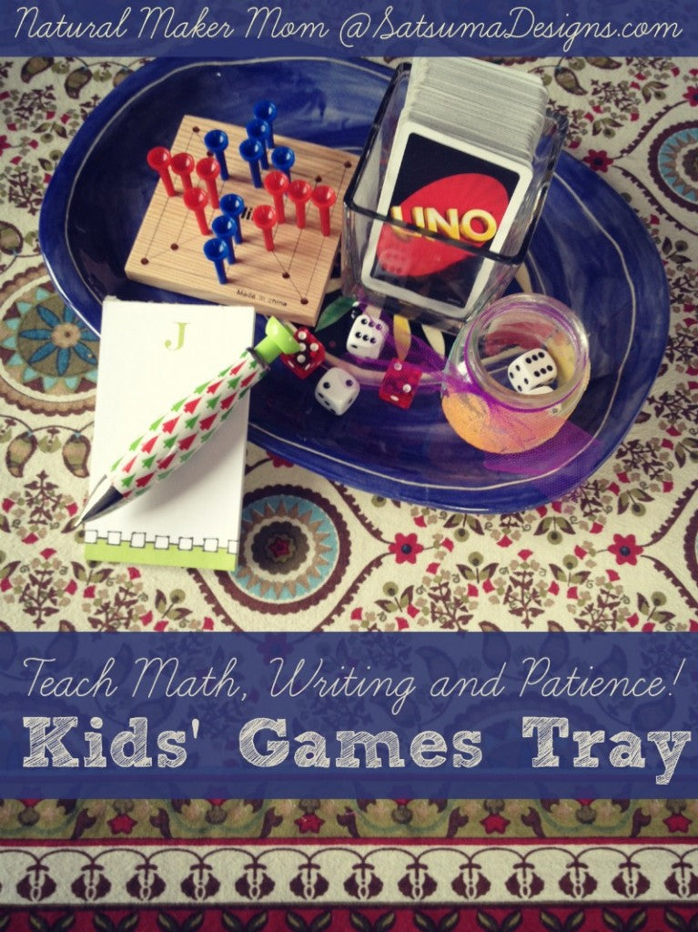 kids games tray teach math writing and patience