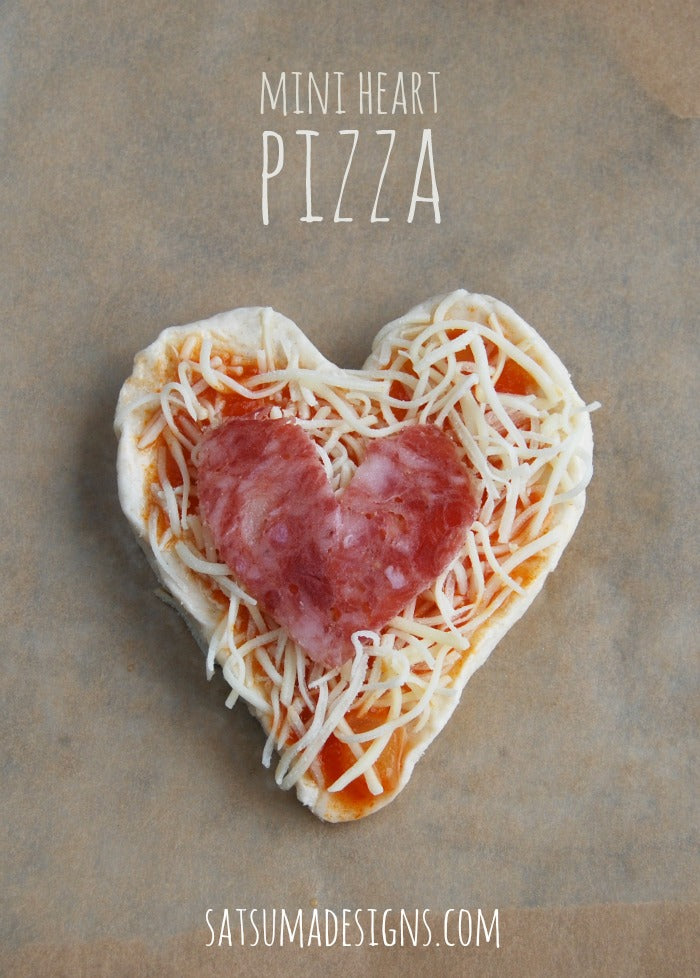 pillsbury grands mini heart pizza