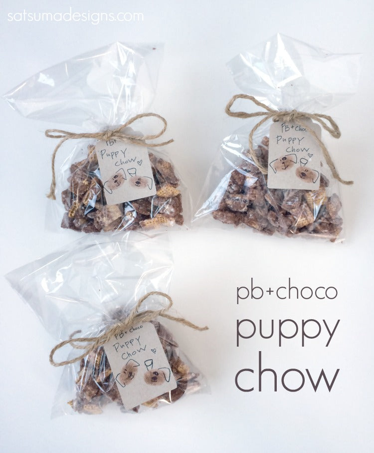 peanut butter chocolate chex mix puppy chow recipe