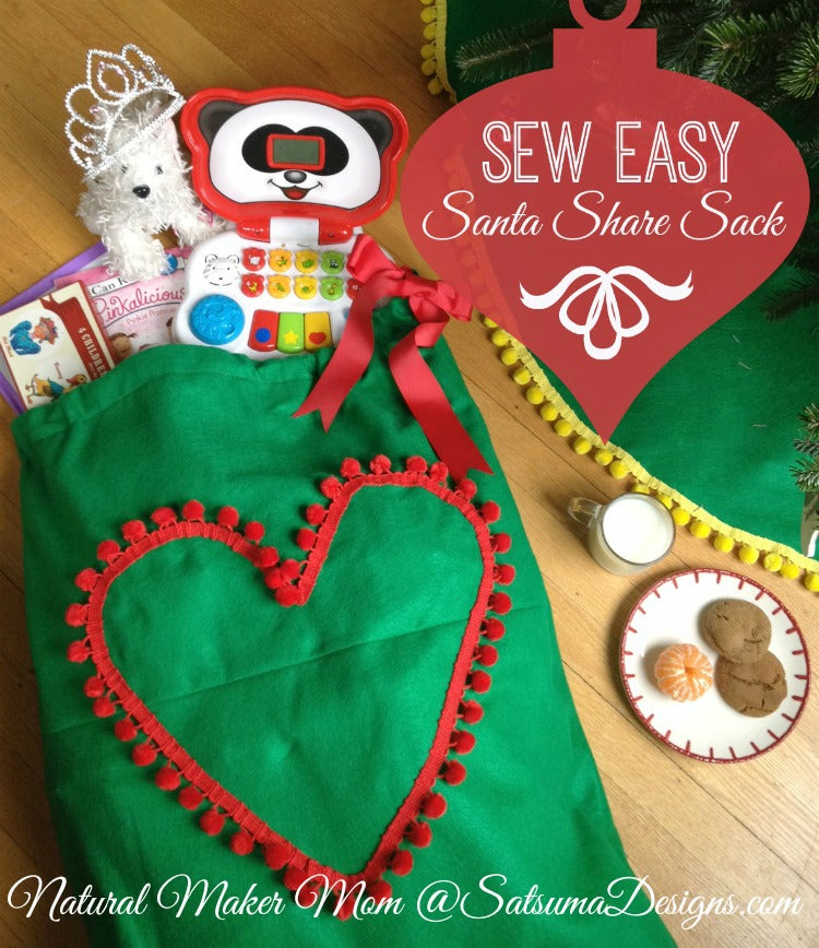 sew easy santa share sack