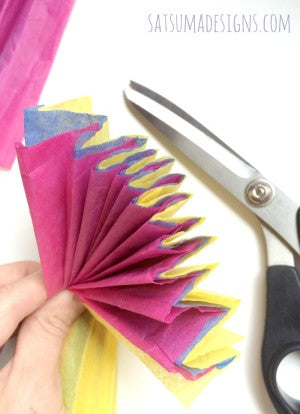 tissue paper easter grass how to