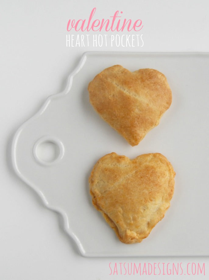 valentine heart hot pocket recipe