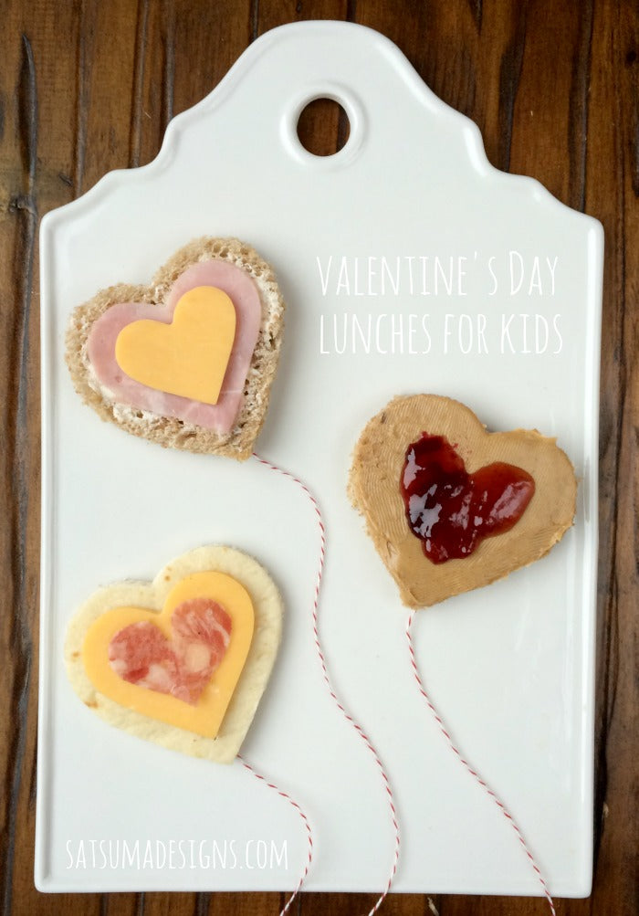 valentine's day lunches for kids