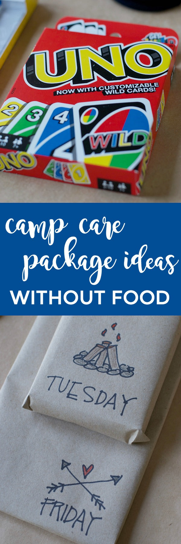 camp care package ideas without food – satsuma designs