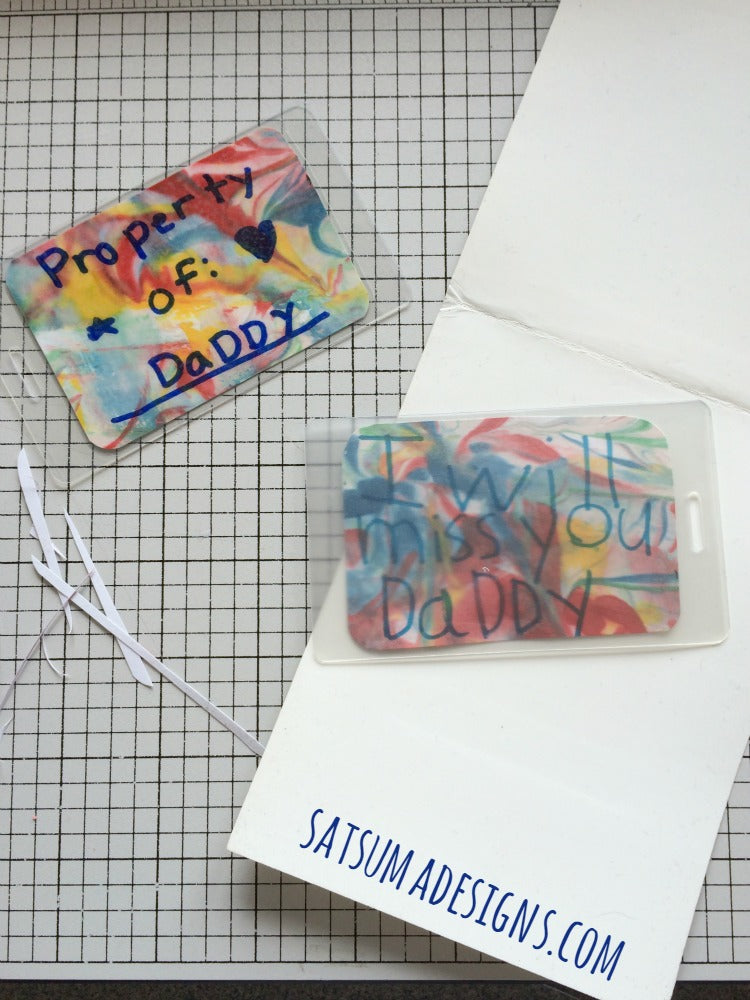 diy luggage tags for father s day satsuma designs