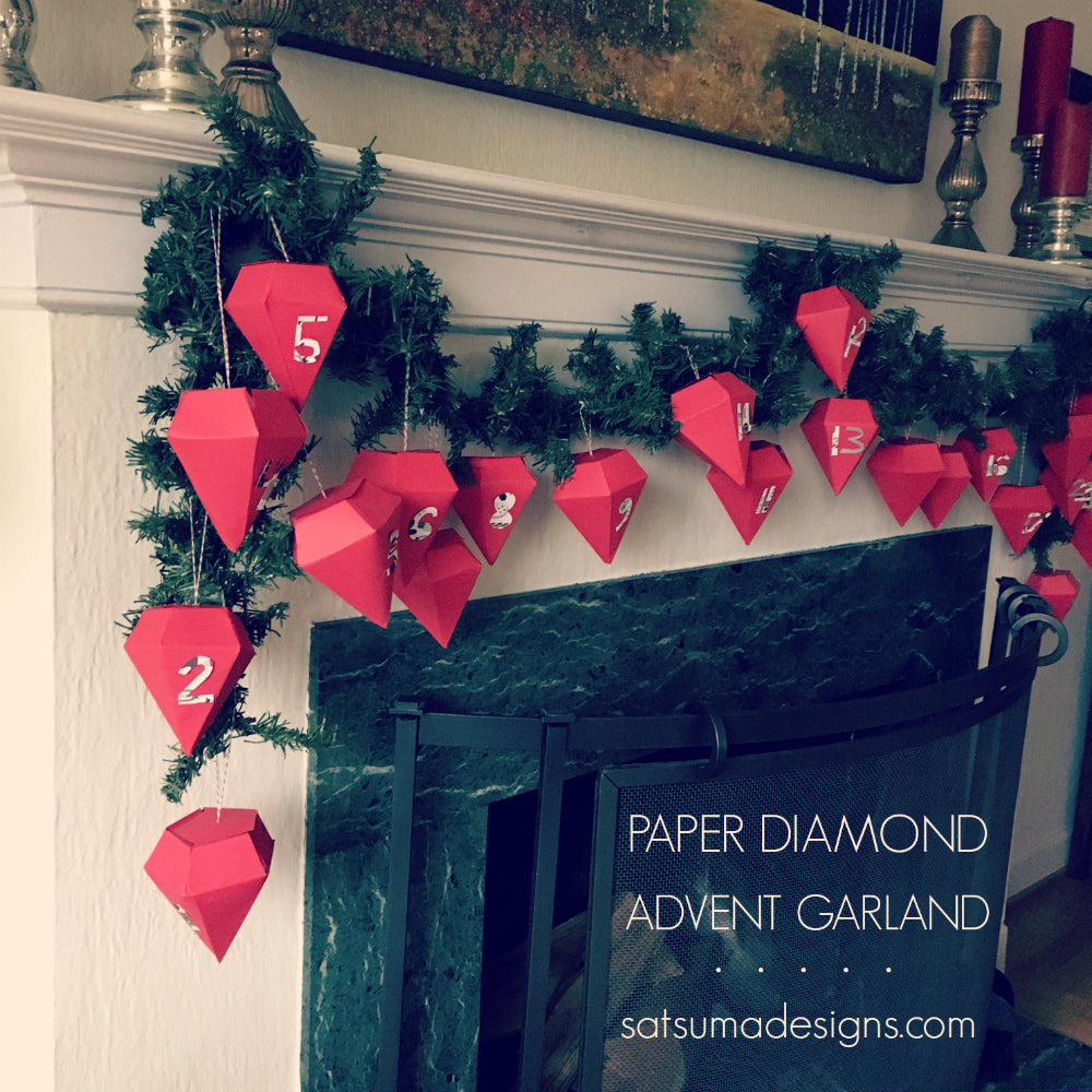 easy diamond tutorial make paper origami december an how to