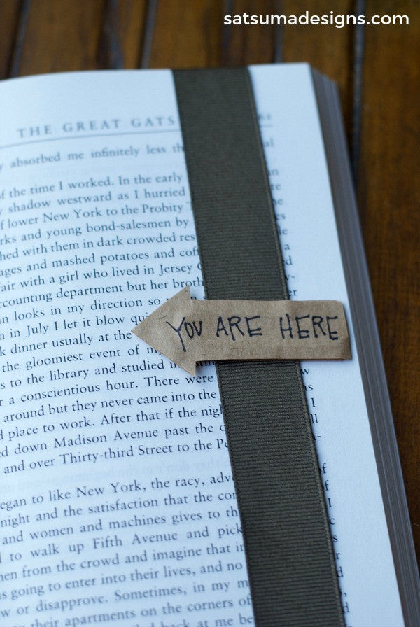 always find your place book marks