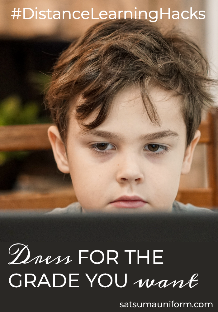 If you've heard the expression, 'dress for the job you want', here are my tips to give kids the best start with distance learning. My tips include a personal hygiene checklist that can be used to help kids create great morning routine habits that set them up for successful #distancelearning. #checklist #printable #elearning #onlineschool #zoom #teams #printables #homeschool #homeschooling #success