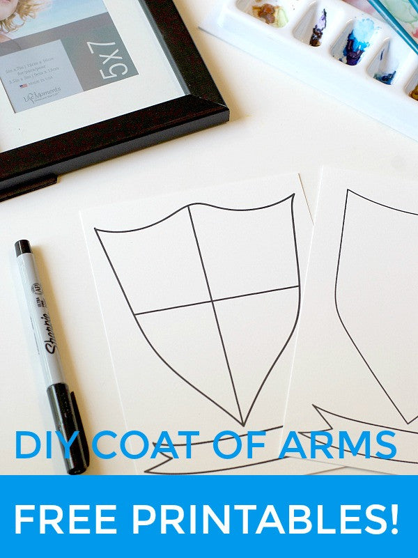 diy coat of arms and family crest