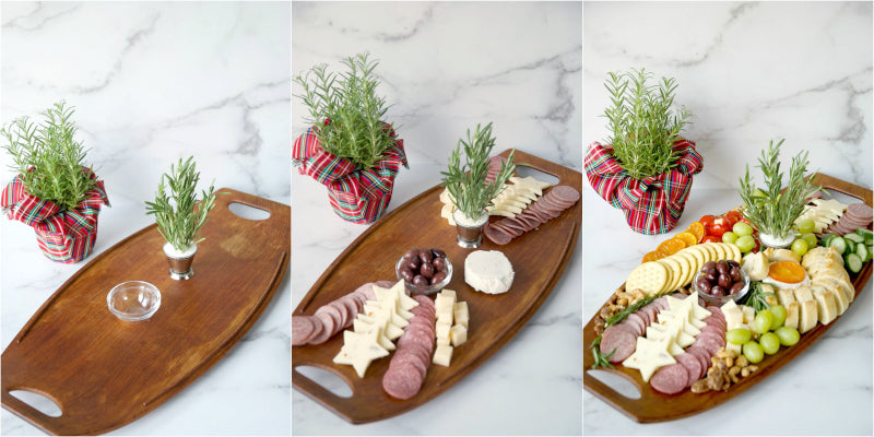 #ad Create a festive feasting antipasto board with Margherita dry salami and sliced salami from the deli section of your local grocery store. #MargheritaItalianMeats