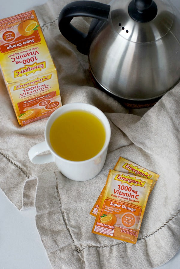 10 habits for home to combat cold and flu season. Find easy ways to keep the household healthy this cold and flu season. #BeWellEssentials #ad