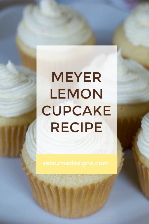 meyer lemon cupcake recipe