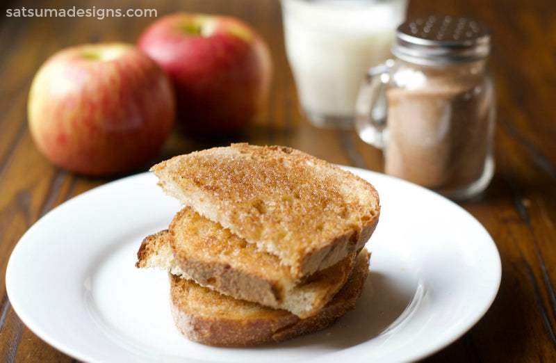 pumpkin pie spice toast