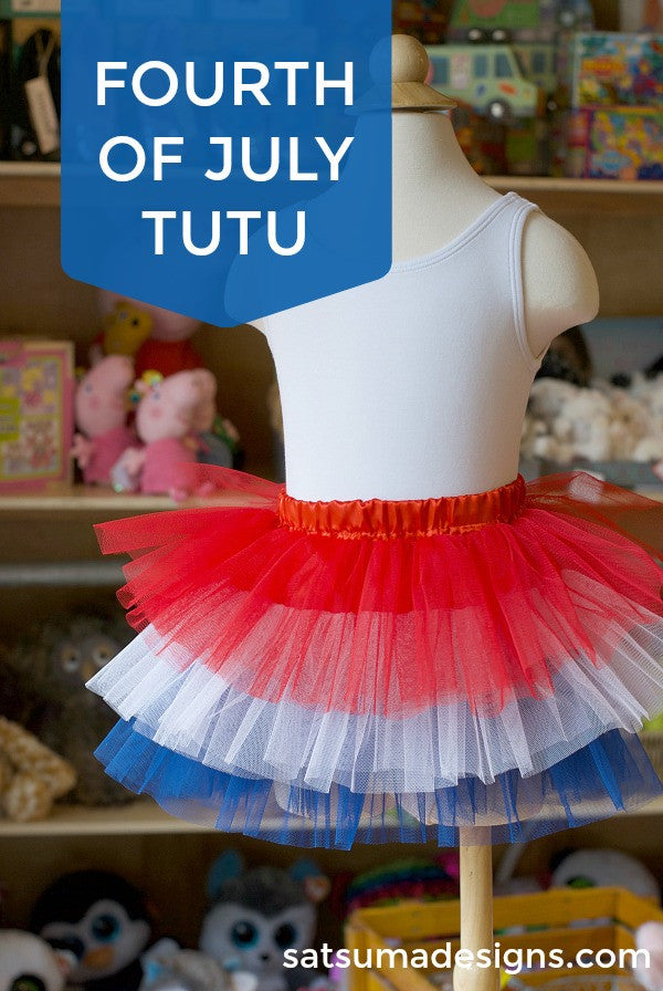 red white and blue tutu for fourth of july