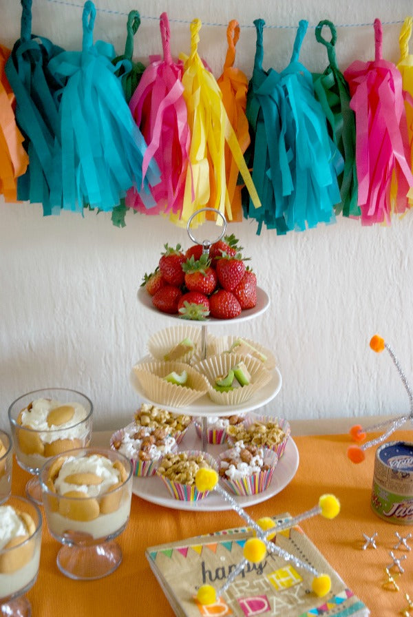 Click through to see how I planned and styled my retro birthday party bash | party planning ideas | SatsumaDesigns.com #retro #vintage
